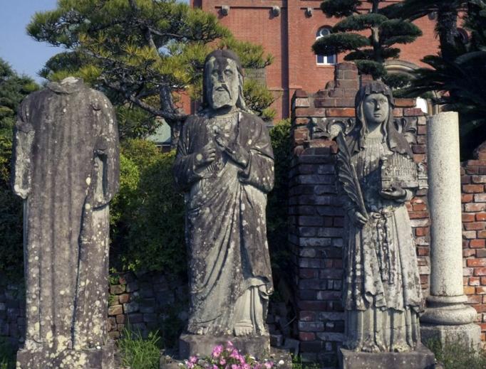 Cathedral in Nagasaki.