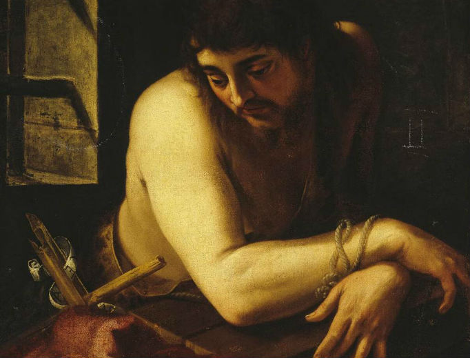St. John the Baptist in Prison (Juan Fernandez de Naverrete, ca. 1565)