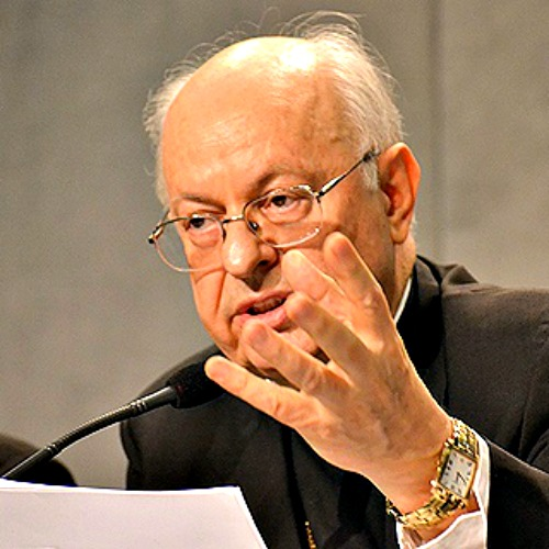 Cardinal Lorenzo Baldisseri, secretary general of the Synod of Bishops