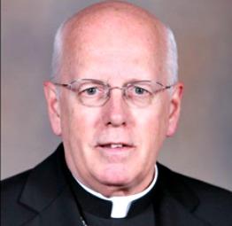 Bishop Paul J. Swain of Souix Falls