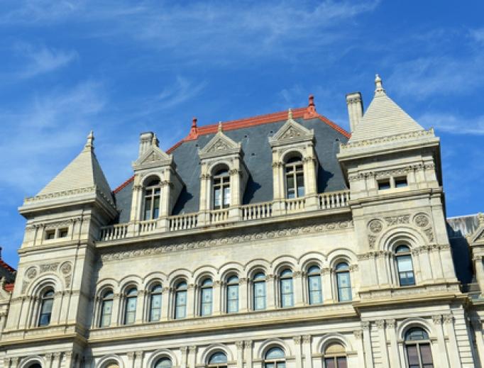 New York Statehouse in Albany.