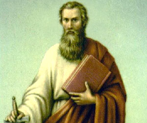 How did St. Paul get his name?