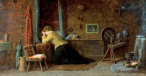 A Prayer for those at Sea by Frederick Daniel Hardy (1879)
