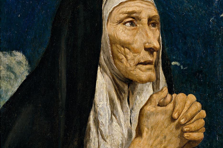 "Luis Tristán, ""Saint Monica,"" 1616"