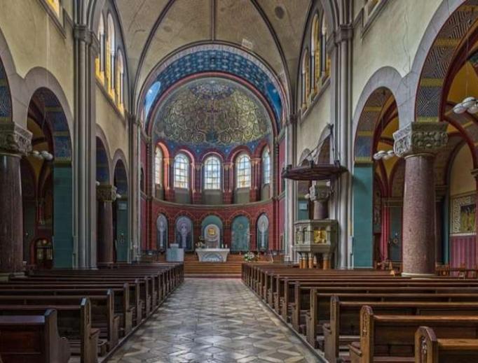 St. Joseph's Church in Berlin, Germany.