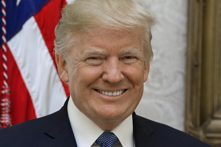 Official portrait of Donald Trump, Oct. 6, 2017.