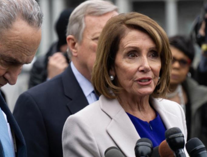 Speaker of the House Nancy Pelosi in 2019.