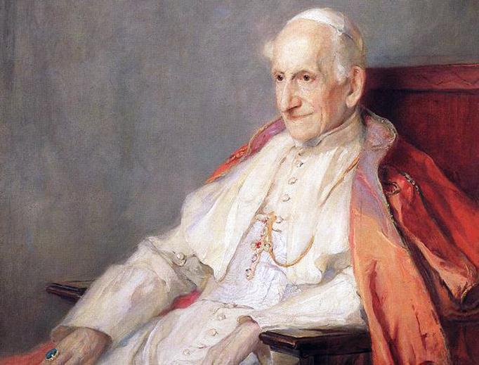 """Philip de László, """"Portrait of Pope Leo XIII,"""" 1900"""