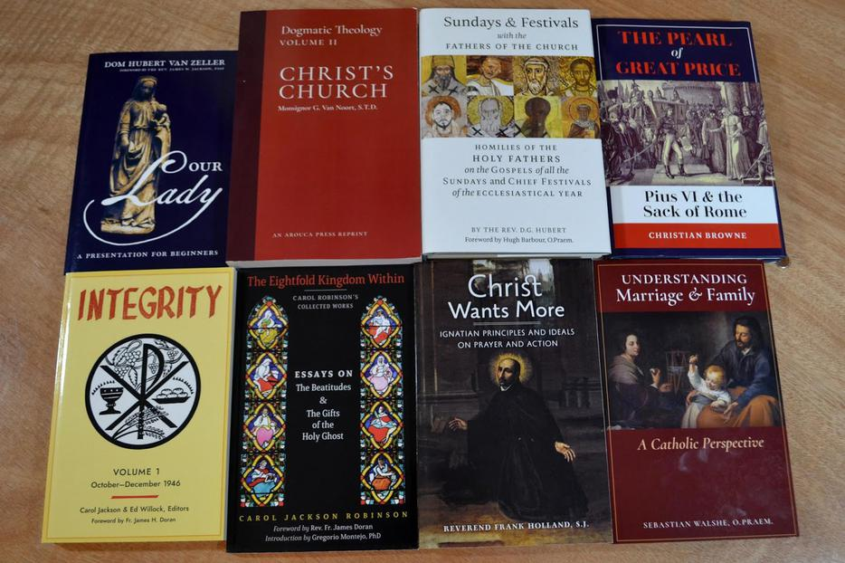 Arouca Books (Source: New Liturgical Movement)