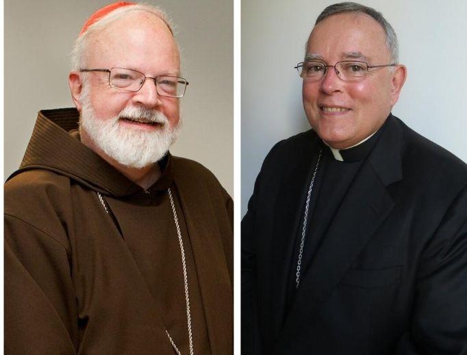 Cardinal O'Malley and Archbishop Chaput