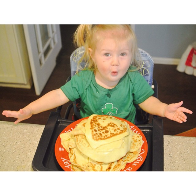Crepes are a fun way to celebrate!
