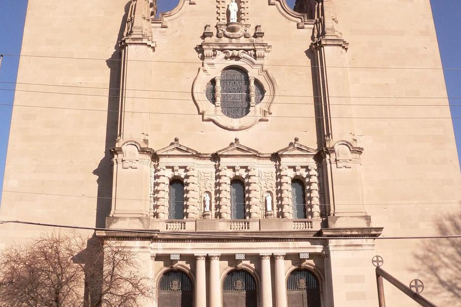 St. Cecilia Cathedral in Omaha.