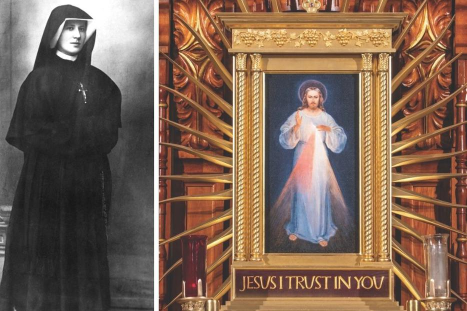 The Shrine of Divine Mercy in Stockbridge, Massachusetts, promotes Jesus' merciful message and the Chaplet of Divine Mercy he entrusted to St. Faustina Kowalska eight decades ago.