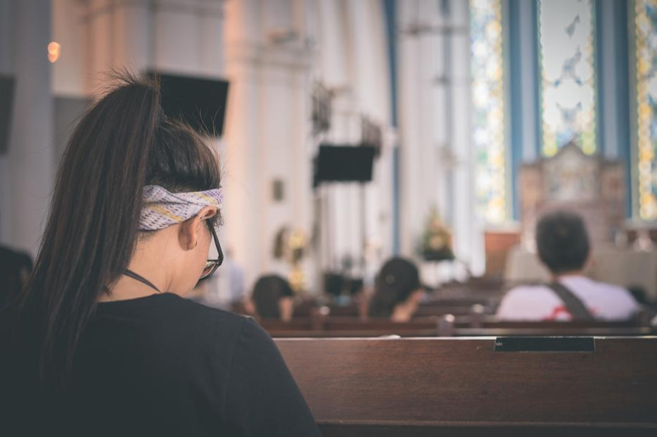 """""""Research shows that when people are in distress, church is the first place they turn."""""""