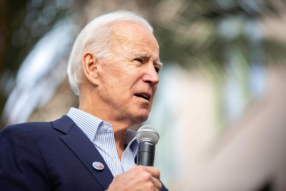 2020 democratic presidential candidate Joe Biden, speaks during an event on Thursday, November 14, 2019 at Los Angeles Trade–Technical College, in Los Angeles, Calif.
