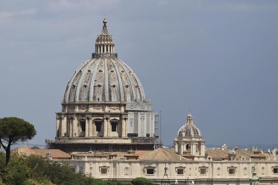 Exterior shot of the Vatican.