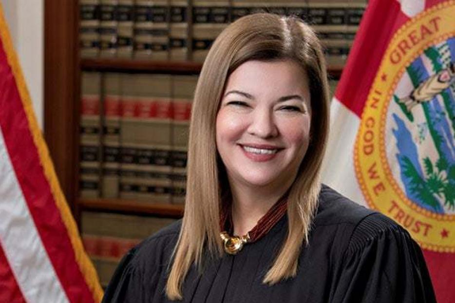 Judge Barbara Lagoa of the Florida Supreme Court.