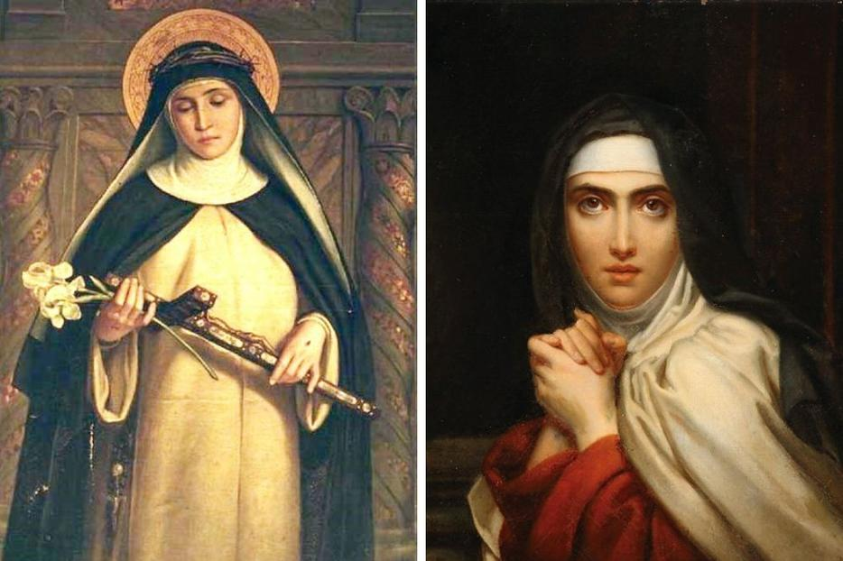 Sts. Catherine of Siena and Teresa of Avila were named doctors of the Church 50 years ago.