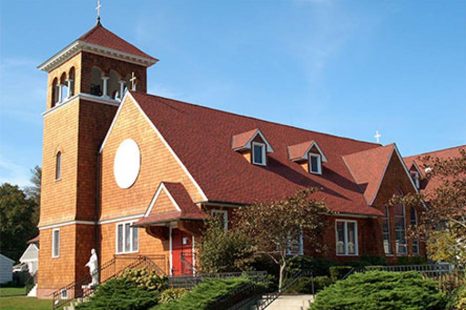 St. Thomas More Catholic Church in Narragansett, RI.