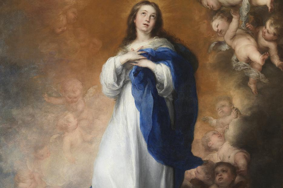 "Bartolomé Esteban Murillo, ""The Immaculate Conception,"" c. 1678"