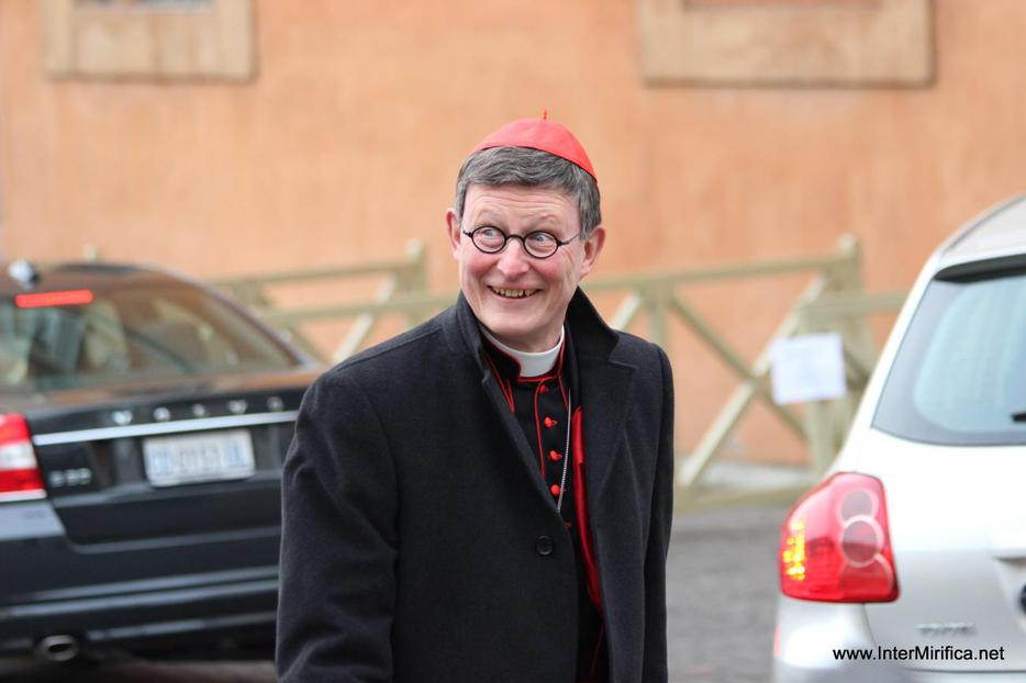 Cardinal Rainer Woelki of Berlin arrives at the Vatican on March 5, 2013.