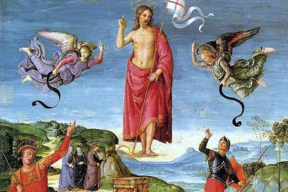 "Raphael, ""The Resurrection of Jesus Christ (Kinnaird Resurrection),"" c. 1500"