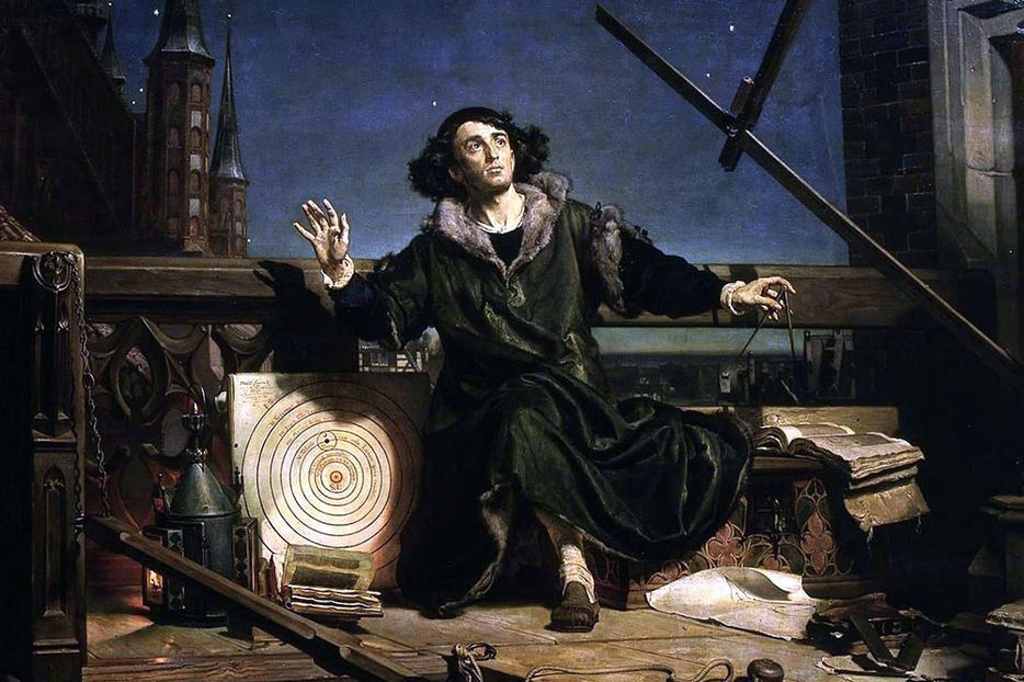 "Jan Matejko, ""Astronomer Copernicus' Conversation With God,"" 1872"