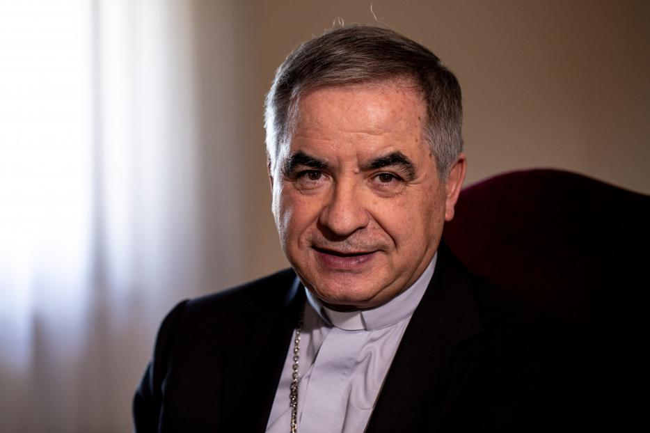 Cardinal Giovanni Angelo Becciu, Prefect of the Congregation for the Causes of Saints on June 27, 2019.