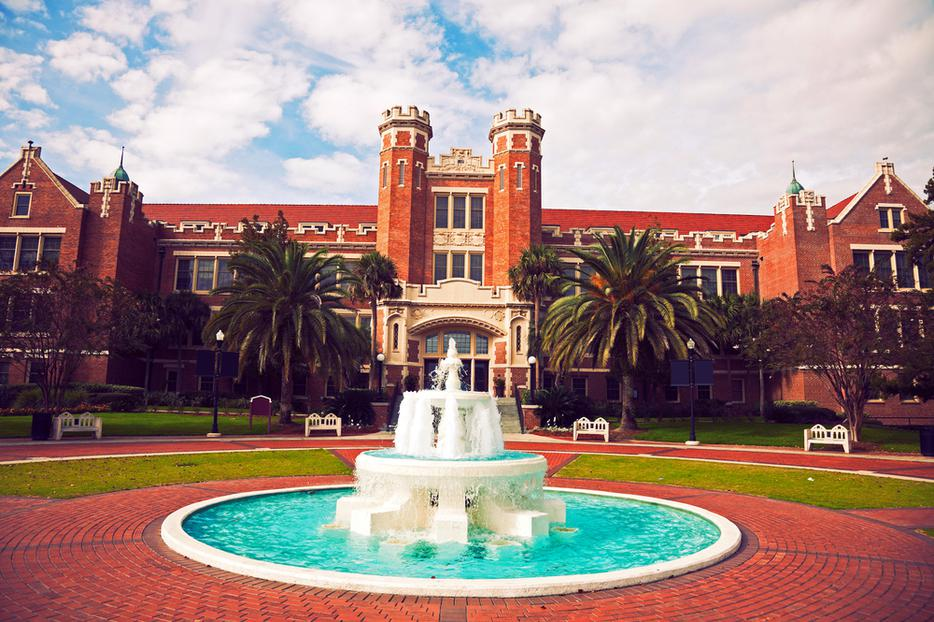 Florida State University historic buildings in Tallahassee, Florida.