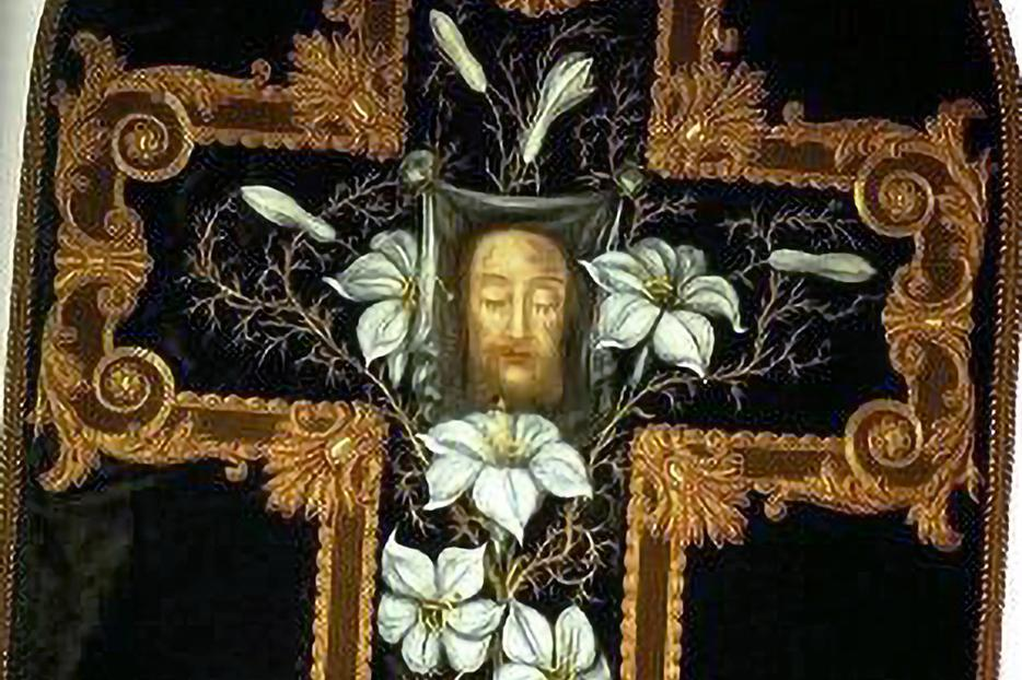 Chasuble made by the Little Flower