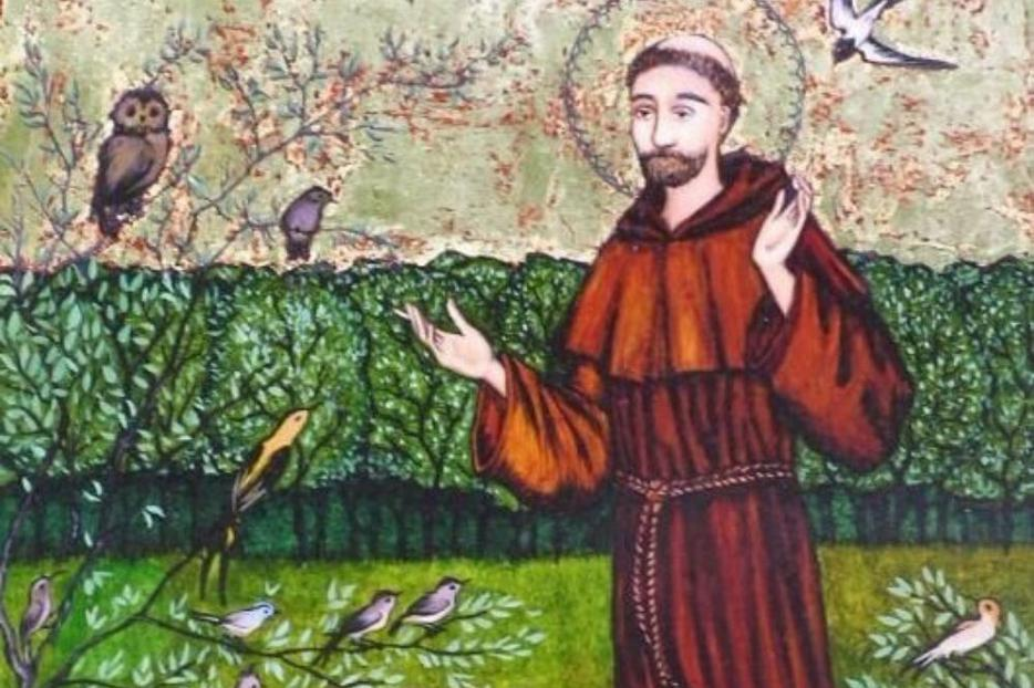 'He loved with an especial warmth and tenderness those creatures that do set forth by the likeness of their nature the holy gentleness of Christ,' St. Bonaventure wrote of St. Francis.