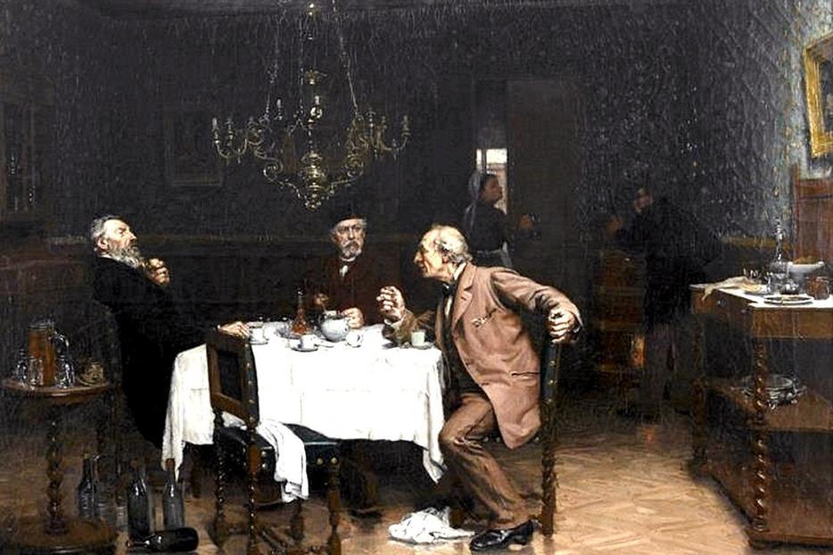 "Édouard-Jean Dambourge, ""At a Friend's,"" 1882"