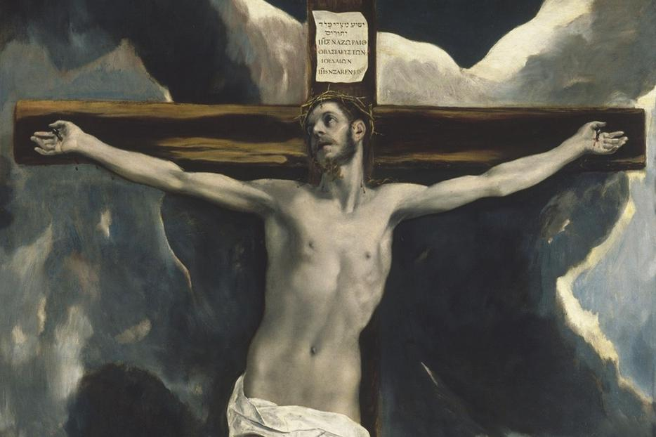 "El Greco, ""Christ on the Cross,"" 1580"