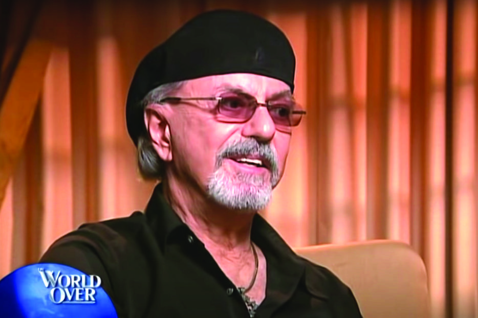 Dion DiMucci, shown during an interview on 'The World Over' has had a long career and an even longer faith journey. His new album, 'Blues With Friends,' was released June 5 by KTBA Records.