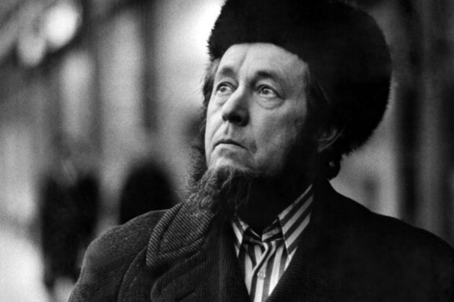 This portrait of Russian author and historian Alexander Solzhenitsyn was taken in Cologne before his departure for Zurich on Feb. 15, 1974. Solzhenitsyn was awarded the Nobel Prize for Literature  in 1970.