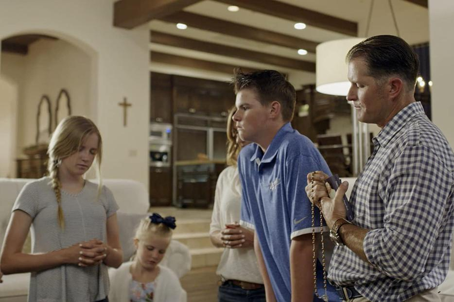 The Sweeney family prays the Rosary in a new documentary about Father Patrick Peyton.
