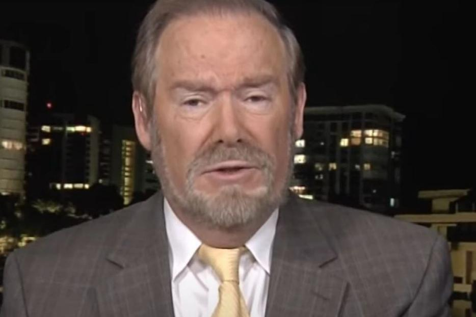 Steven Mosher, shown speaking on 'The World Over' on Dec. 5, 2019, spoke this week in Connecticut about China and threats to religious freedom.