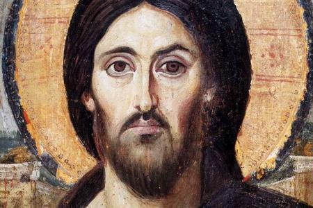 Christ the Saviour (Pantokrator), a 6th-century encaustic icon from Saint Catherine's Monastery, Mount Sinai.