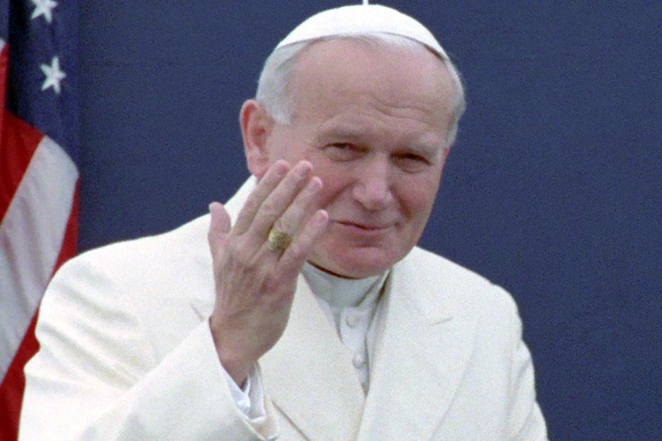 Pope John Paul II in 1984