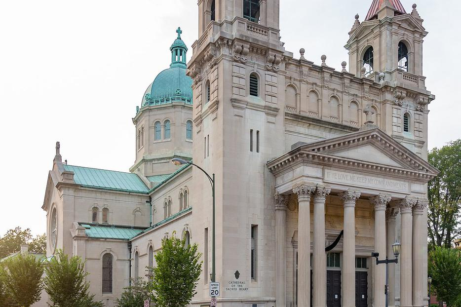 The Cathedral of the Sacred Heart in Richmond, Virginia.