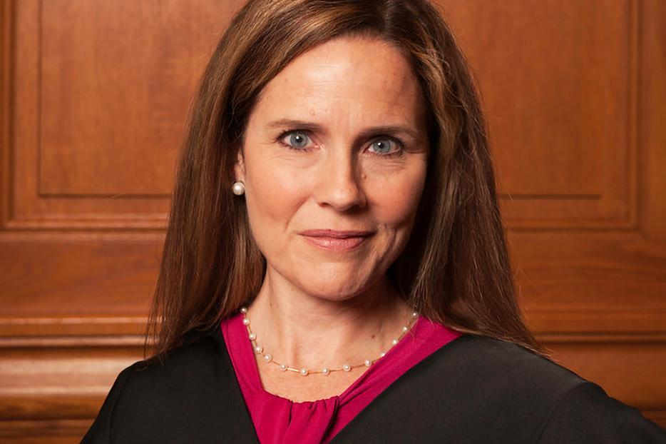 Amy Coney Barrett in 2018