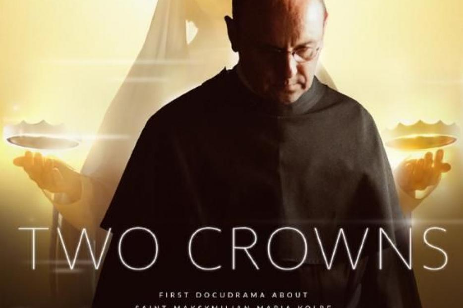 Promotional poster for the new movie, 'Two Crowns'