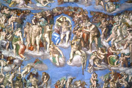 "Michelangelo, ""The Last Judgment,"" 1536-1541"
