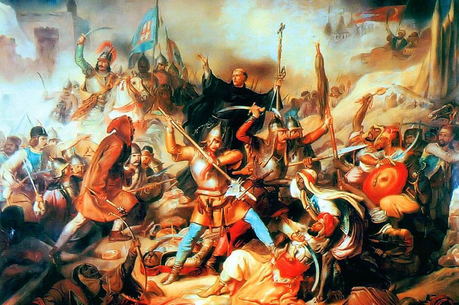 "Unknown, ""The Siege of Belgrade,"" 19th Century"