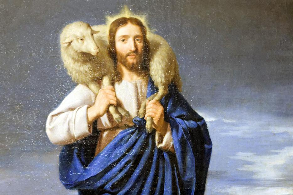 """Philippe de Champaigne [1602-1674], """"The Good Shepherd"""""""