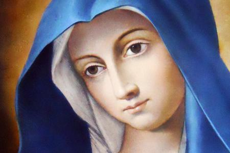 """The """"Madonna della Perseveranza"""" image from the Pontifical Minor Roman Seminary in Rome."""