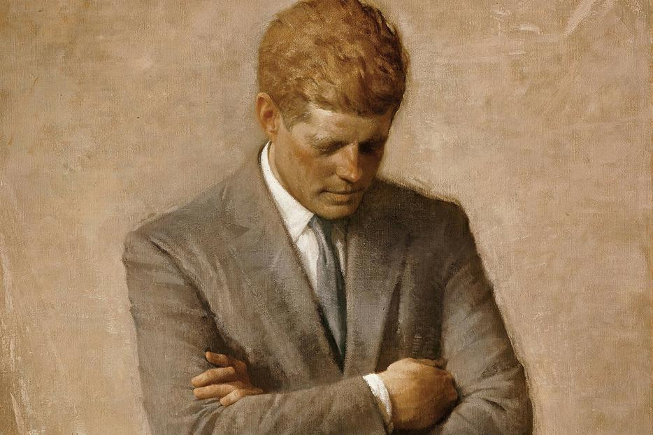 Official portrait of President John F. Kennedy