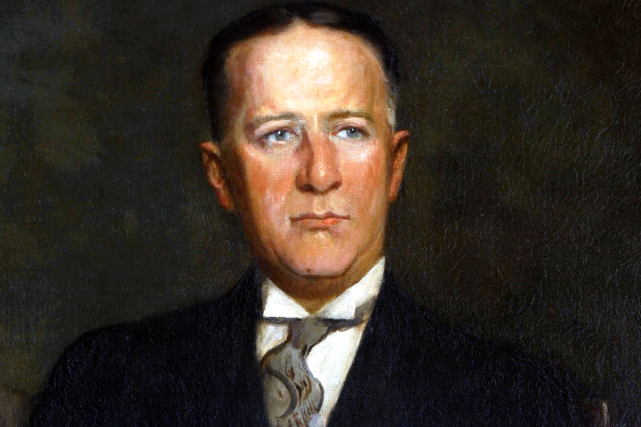 """Official Gubernatorial Portrait of Alfred E. 'Al' Smith,"" c. 1935"