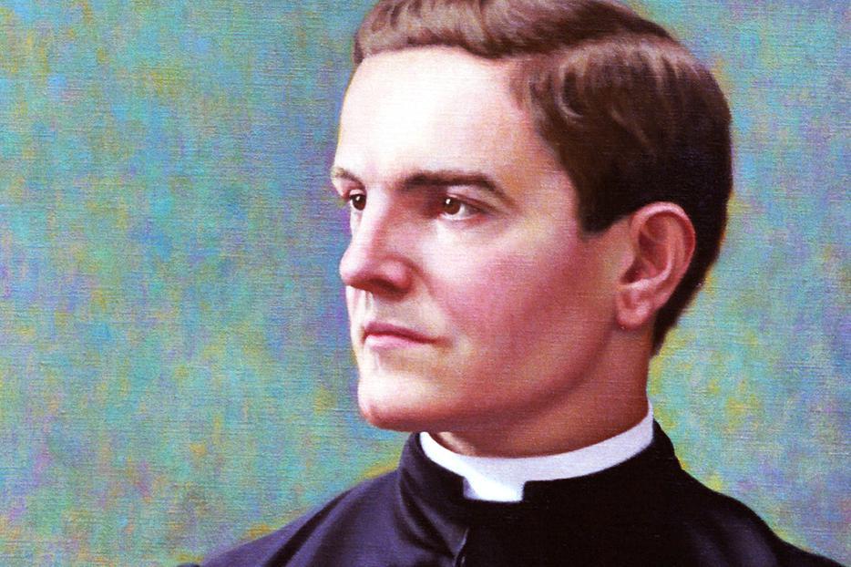 "Richard Whitney, ""Portrait of Father Michael J. McGivney"""