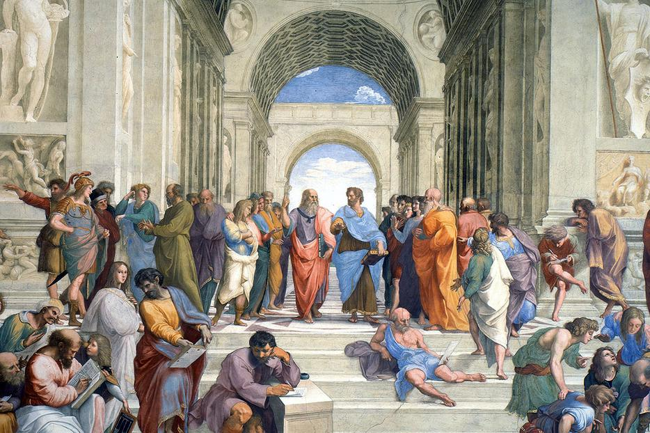 "Raphael [1483-1520], ""The School of Athens"""
